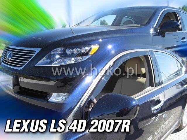 Ofuky oken Heko Lexus LS 4D 2007- přední