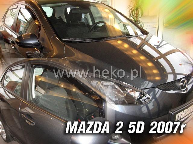 Ofuky oken Heko Mazda 2 5D 2007- přední + zadní