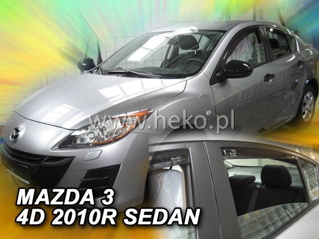 Ofuky oken Heko Mazda 3 4D 2009- sedan přední