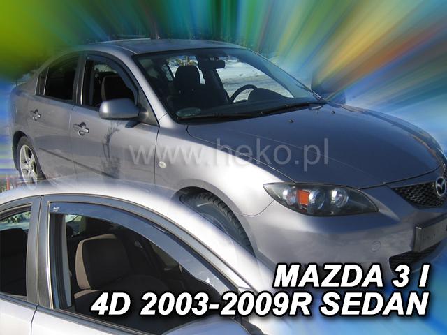 Ofuky oken Heko Mazda 3 5D 2003- přední