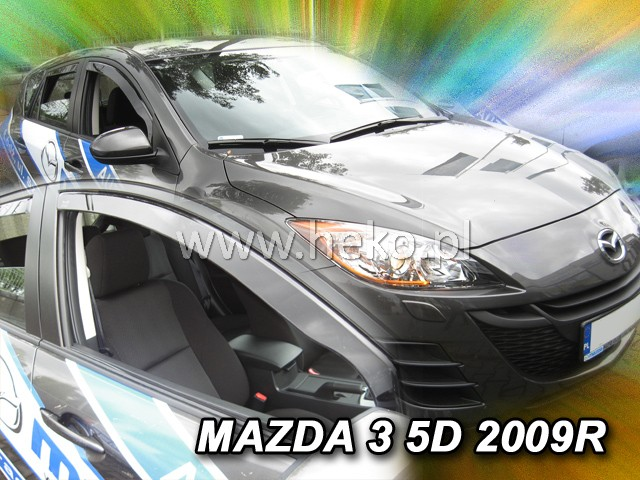 Ofuky oken Heko Mazda 3 5D 2009- přední