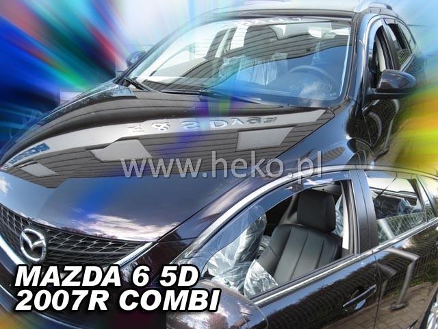 Ofuky oken Heko Mazda 6 4D 2007- přední + zadní combi