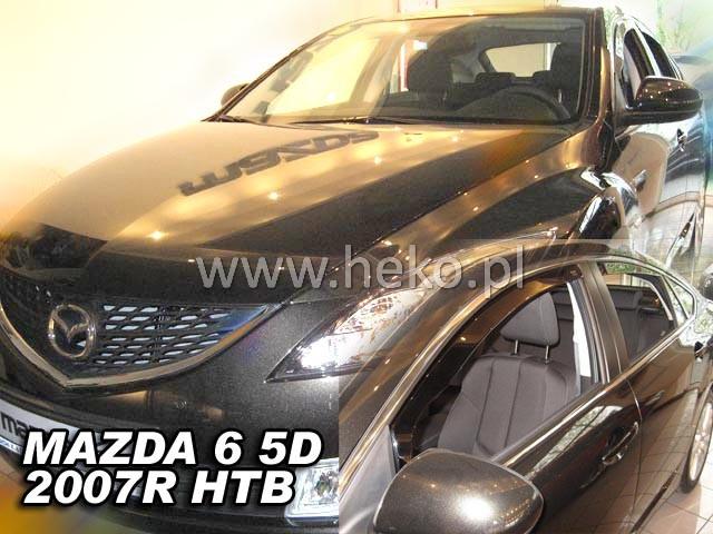 Ofuky oken Heko Mazda 6 4D 2007- přední + zadní htb
