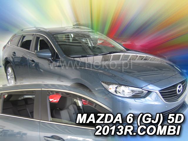 Ofuky oken Heko Mazda 6 GJ 4D 2013- přední + zadní combi