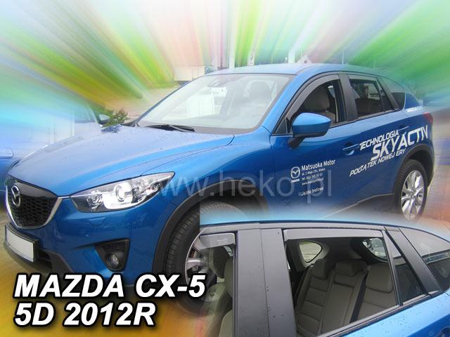 Ofuky oken Heko Mazda CX-5 5D 2012- přední + zadní
