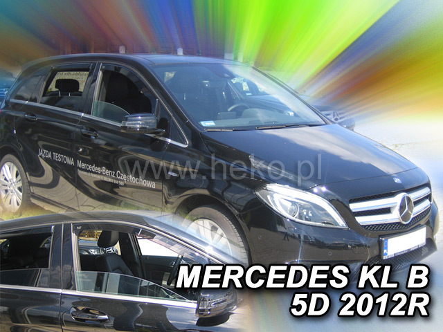Ofuky oken Mercedes B W246 5D 2011- p