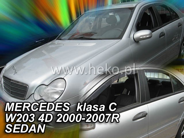 Ofuky oken Mercedes C W203 5D 2000-2007 p