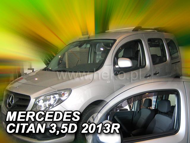 Ofuky oken Heko Mercedes Citan W415 3/5D 2012- přední