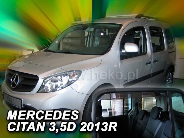 Ofuky oken Mercedes Citan W415 3/5D 2012- p