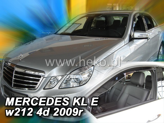 Ofuky oken Heko Mercedes E W212 4/5D 2009- přední