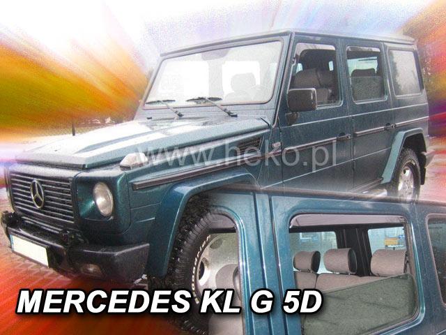 Ofuky oken Mercedes G 5D p