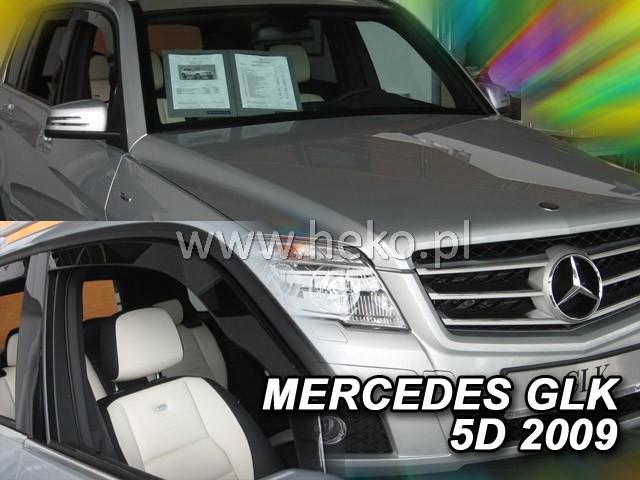 Ofuky oken Heko Mercedes GLK 5D 2009- přední