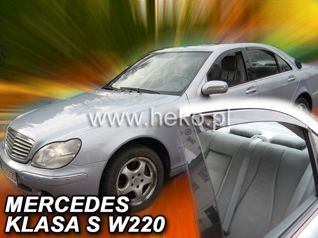 Ofuky oken Mercedes S W220 4D 1999- p