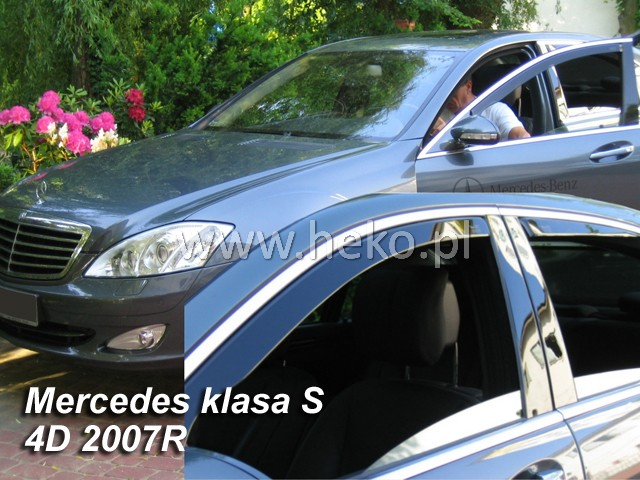 Ofuky oken Heko Mercedes S W221 4D 2005- přední