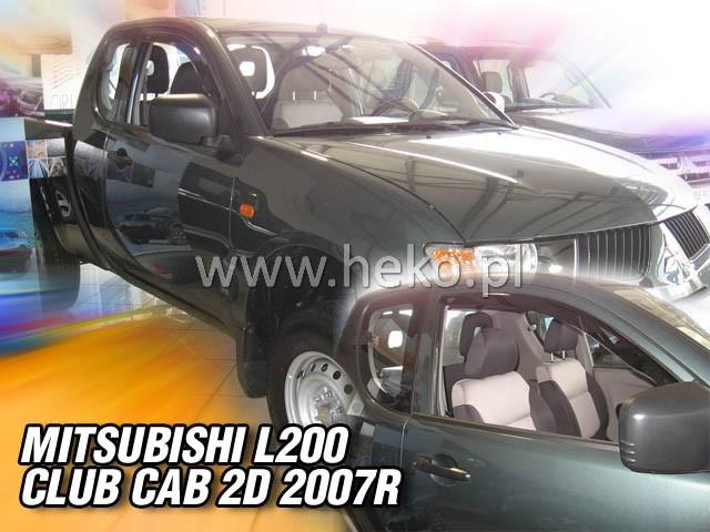 Ofuky oken Heko Mitsubishi L200 Club Cab 2D 2006- přední