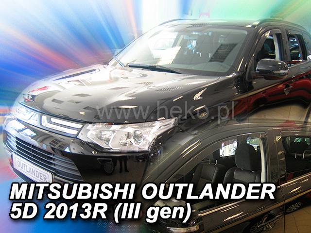 Ofuky oken Heko Mitsubishi Outlander 5D 2013- přední + zadní