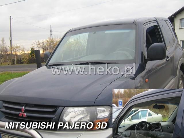 Ofuky oken Heko Mitsubishi Pajero 3D 2001- přední