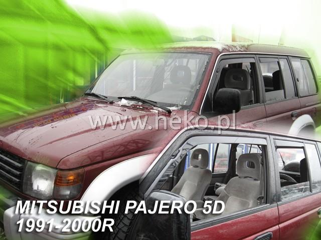 Ofuky oken Heko Mitsubishi Pajero 5D 1991-2000 přední + zadní