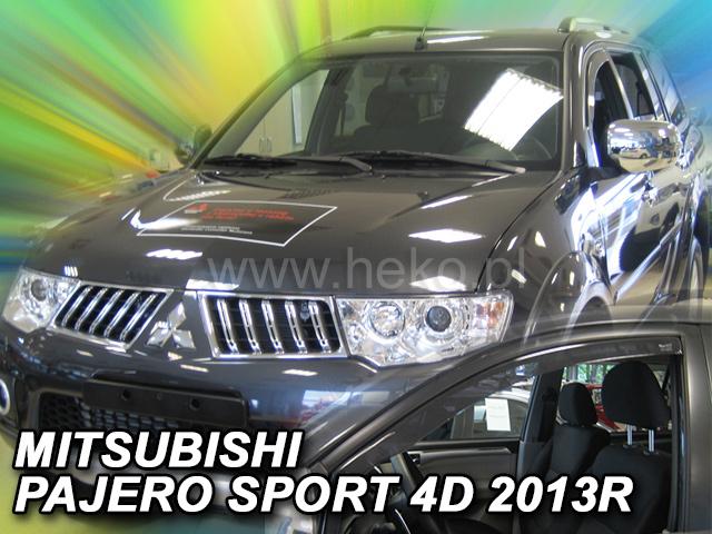Ofuky oken Heko Mitsubishi Pajero 5D Sport 2013- přední