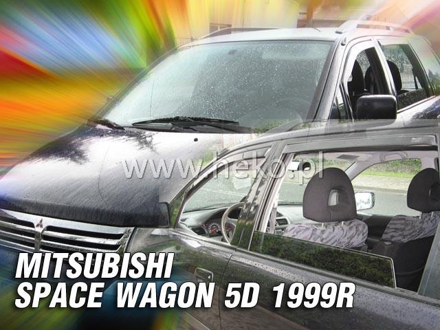 Ofuky oken Heko Mitsubishi Space Wagon 5D 1999-2005 přední + zadní