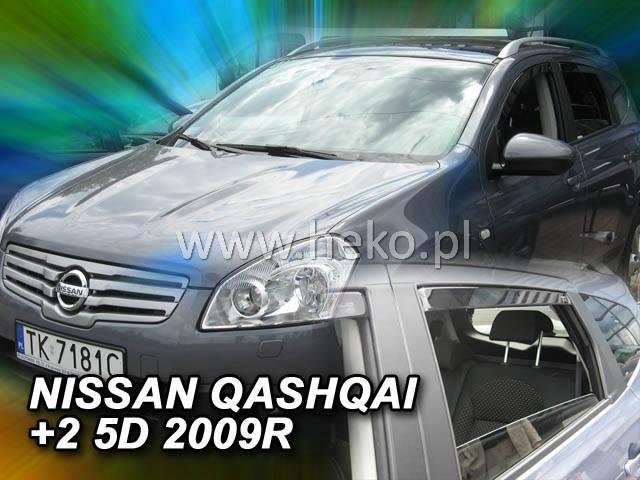 Ofuky oken Nissan Qashqai +2 5D 2008- p
