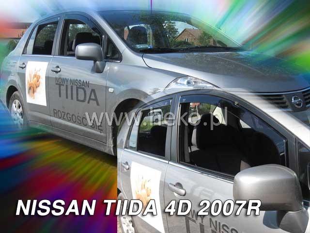 Ofuky oken Heko Nissan Tiida 4D sedan 2007- přední