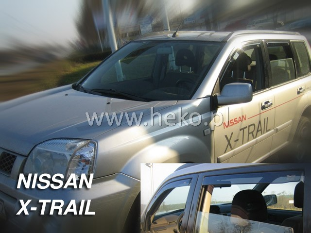 Ofuky oken Nissan X-Trail 5D 2001- p