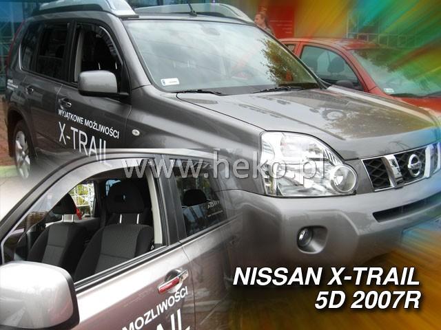 Ofuky oken Heko Nissan X-Trail 5D 2007- přední