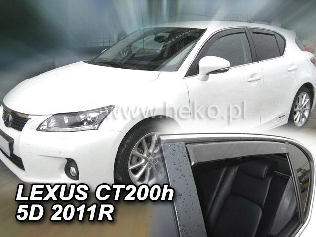 Ofuky oken Heko Ofuky oken Heko Lexus CT 200H 5D 2011- přední + zadní