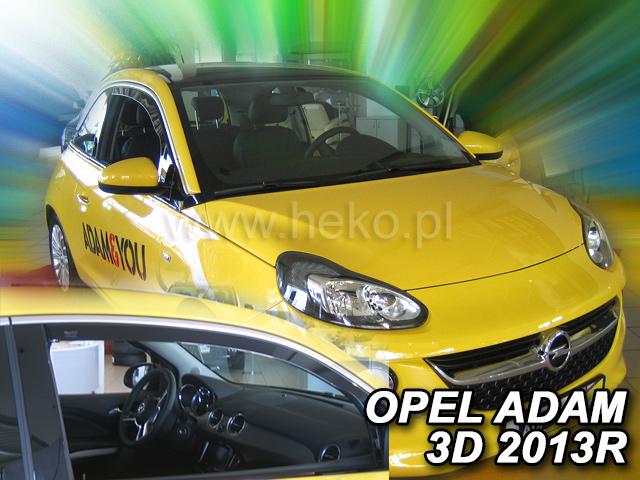 Ofuky oken Heko Opel Adam 3D 2013- přední