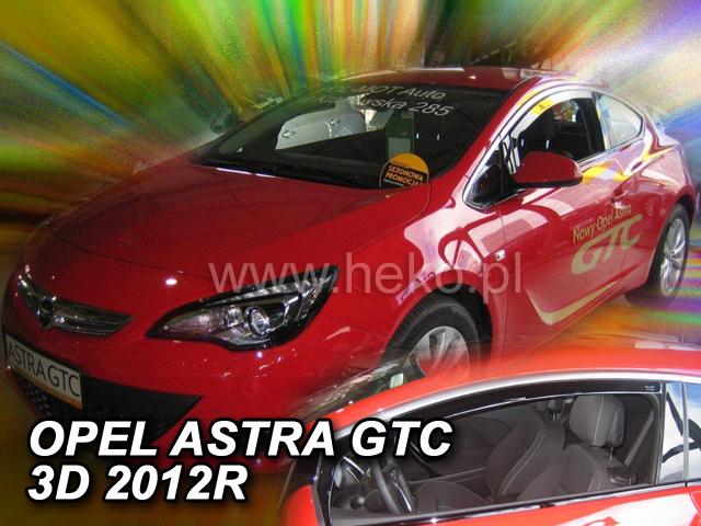 Ofuky oken Heko Opel Astra GTC 3D 2010- přední