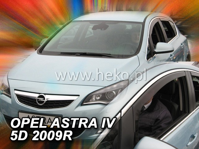 Ofuky oken Heko Opel Astra IV 2009- přední