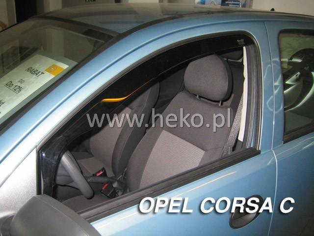 Ofuky oken Heko Opel Corsa C 5D 2000-2006 přední