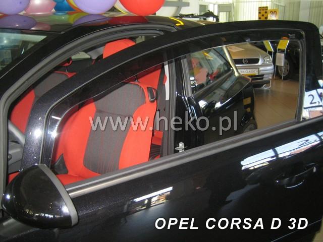 Ofuky oken Heko Opel Corsa D 3D 2006- přední