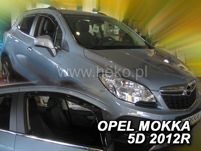 Ofuky oken Heko Opel Mokka 5D 2012- přední