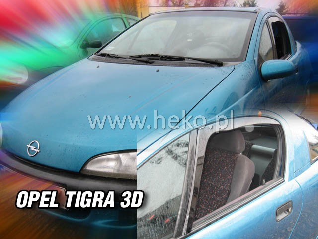 Ofuky oken Heko Opel Tigra 3D přední