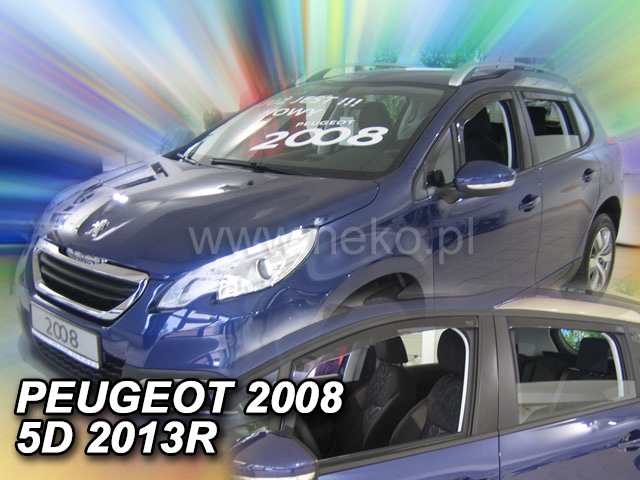 Ofuky oken Peugeot 2008 5D 2013- p