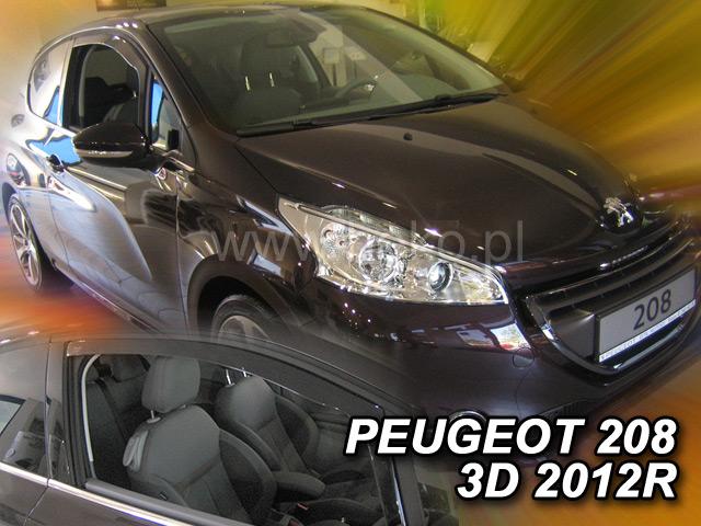 Ofuky oken Heko Peugeot 208 3D 2012- přední