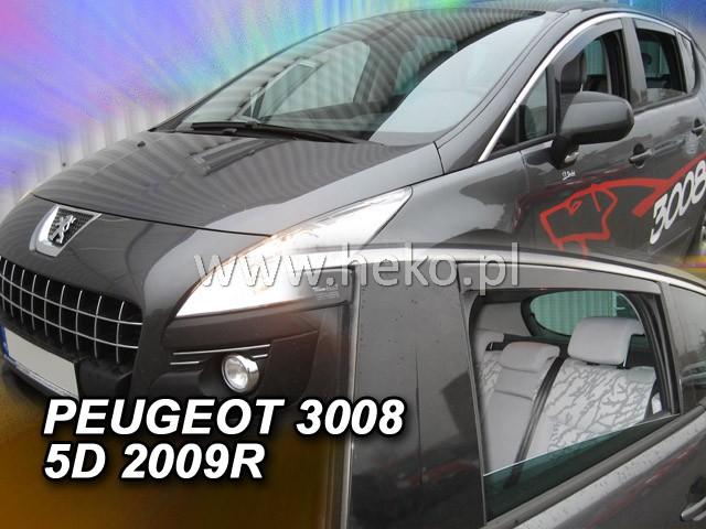 Ofuky oken Peugeot 3008 5D 2009- p