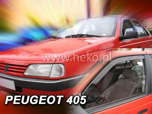 Ofuky oken Heko Peugeot 405 4D 1992- přední