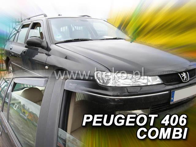 Ofuky oken Peugeot 406 4D 1996- p