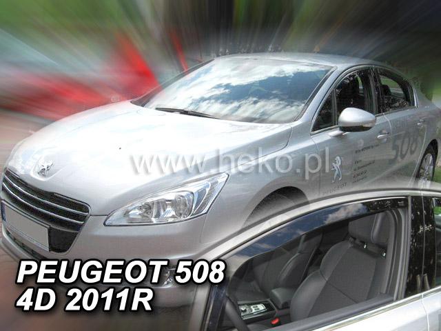 Ofuky oken Heko Peugeot 508 4/5D 2011- přední