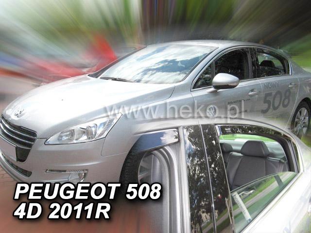 Ofuky oken Peugeot 508 4D p