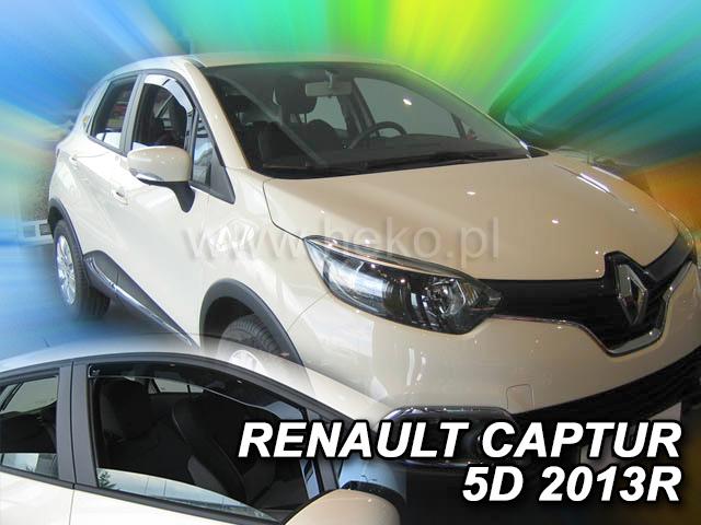 Ofuky oken Heko Renault Captur 5D 2013- přední