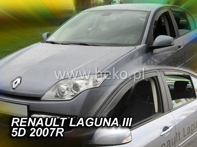 Ofuky oken Heko Renault Laguna III 5D 2007- přední