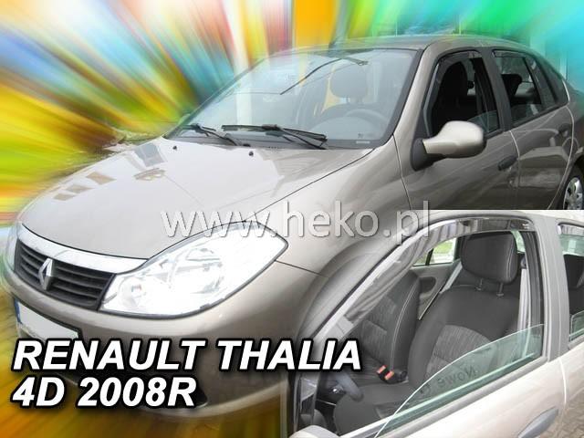 Ofuky oken Heko Renault Thalia 4D 2008- přední