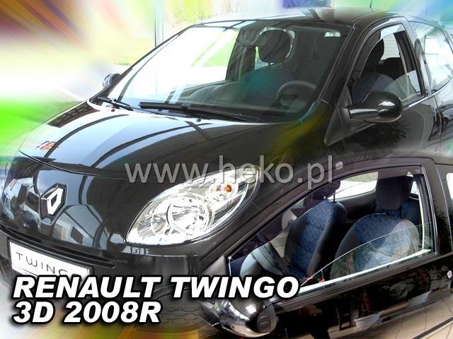 Ofuky oken Heko Renault Twingo 3D 2008- přední