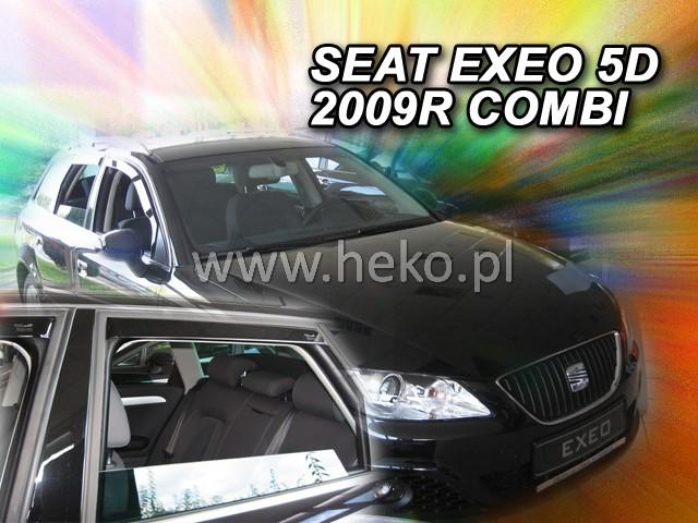 Ofuky oken Heko Seat Exeo 4D 2009- přední + zadní combi