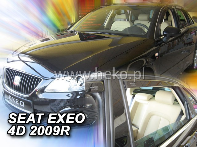 Ofuky oken Heko Seat Exeo 4D 2009- přední + zadní sedan