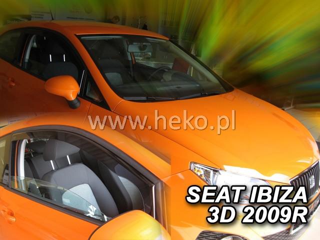 Ofuky oken Heko Seat Ibiza 3D 2009- přední